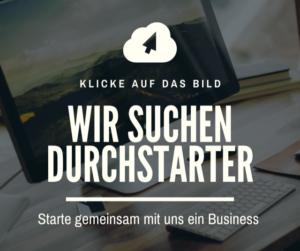 Starte mit uns dein Business