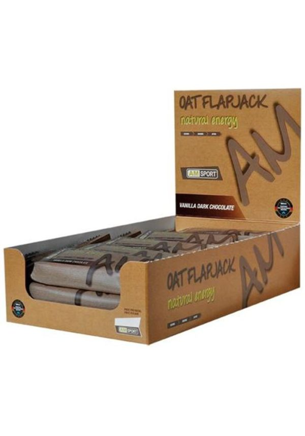 AMSPORT Oat Flapjack, 15 x 50 g Riegel